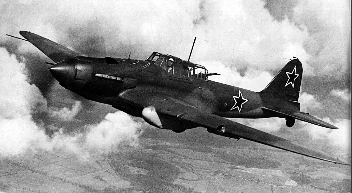 Avião de ataque ao solo Ilyushin Il-2 Sturmovik